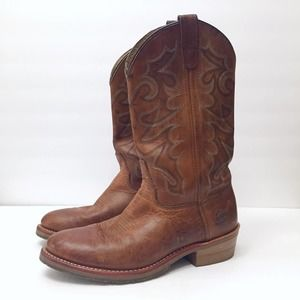 Double H Gel Ice Work Western Boots 9D